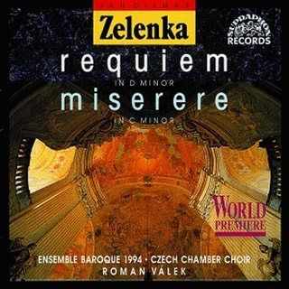 Ensemble Baroque 1994 - Jan Dismas Zelenka : Requiem, CD