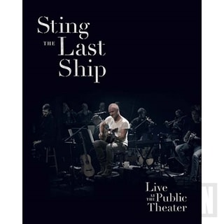 Sting - The Last Ship, BD