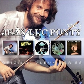 Jean-Luc Ponty - Original Album Series Vol 2, CD