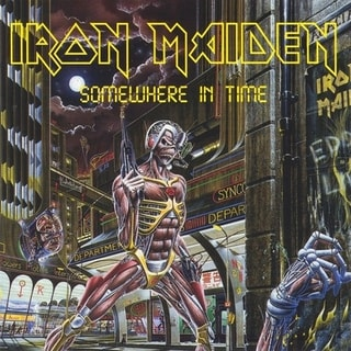 Iron Maiden - Somewhere In Time, CD