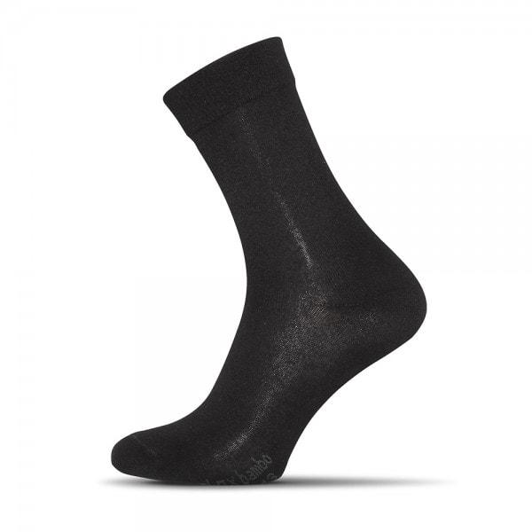 Shox Klasické bavlněné černé ponožky - 44-46