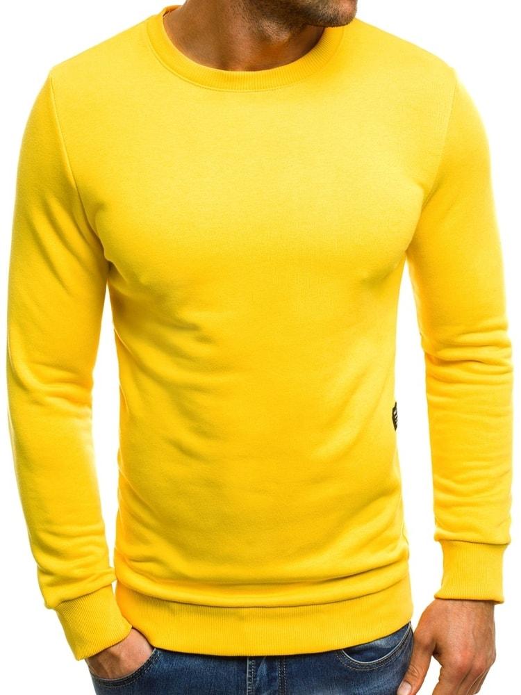 Buďchlap Krásna žlutá mikina BREEZY 171715 - M
