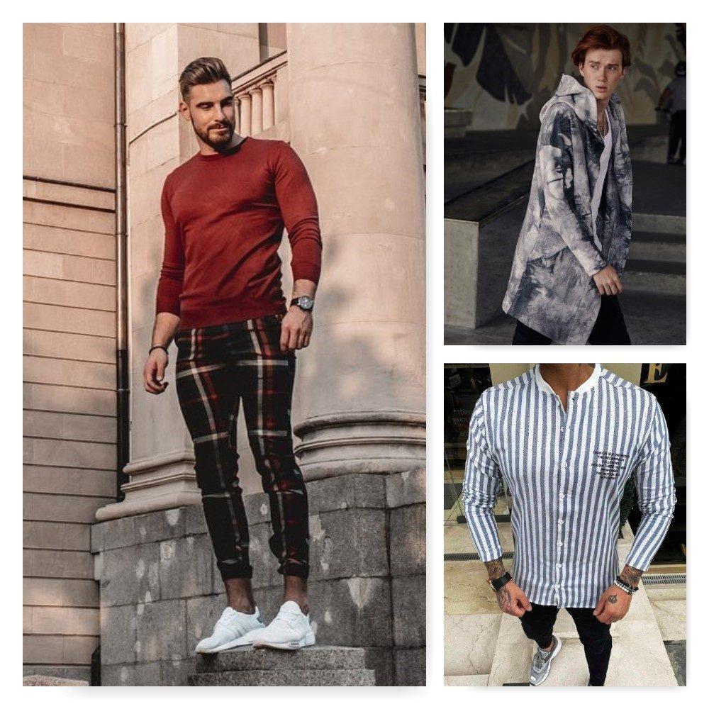 pánské moderní oblečení