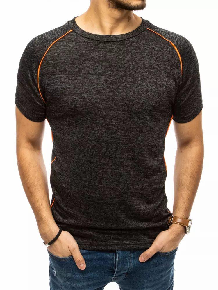 Dstreet Trendové černé tričko