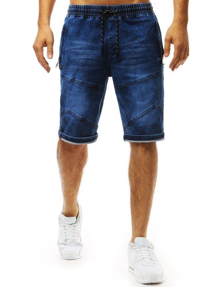 Dstreet Trendy riflové kraťasy modré - XXL