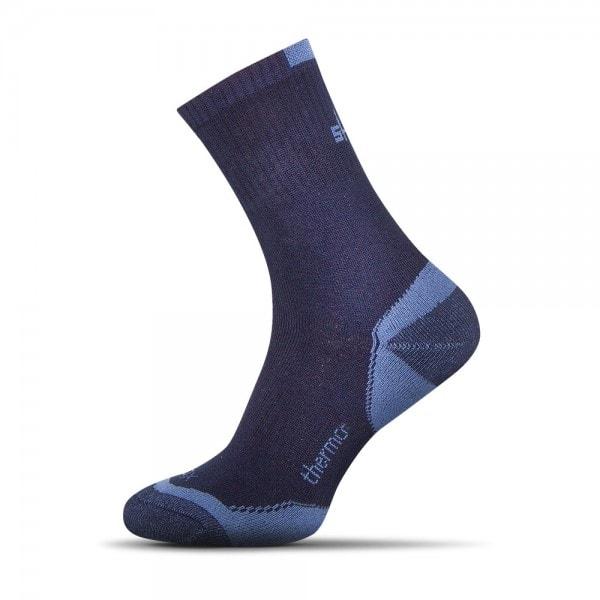 Shox Termo bavlněné ponožky tmavě modré - 44-46