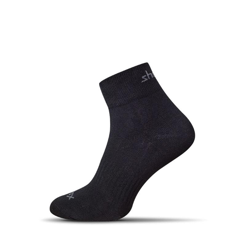 Vzdušné černé pánské ponožky