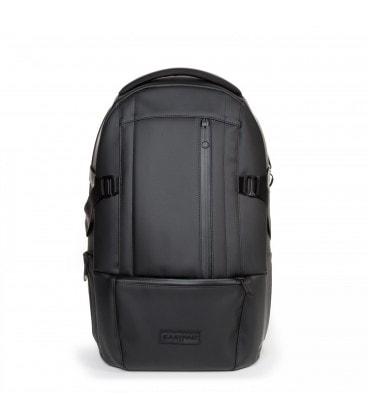 3c34b4f1be EASTPAK FLOID černý kožený Steelth batoh