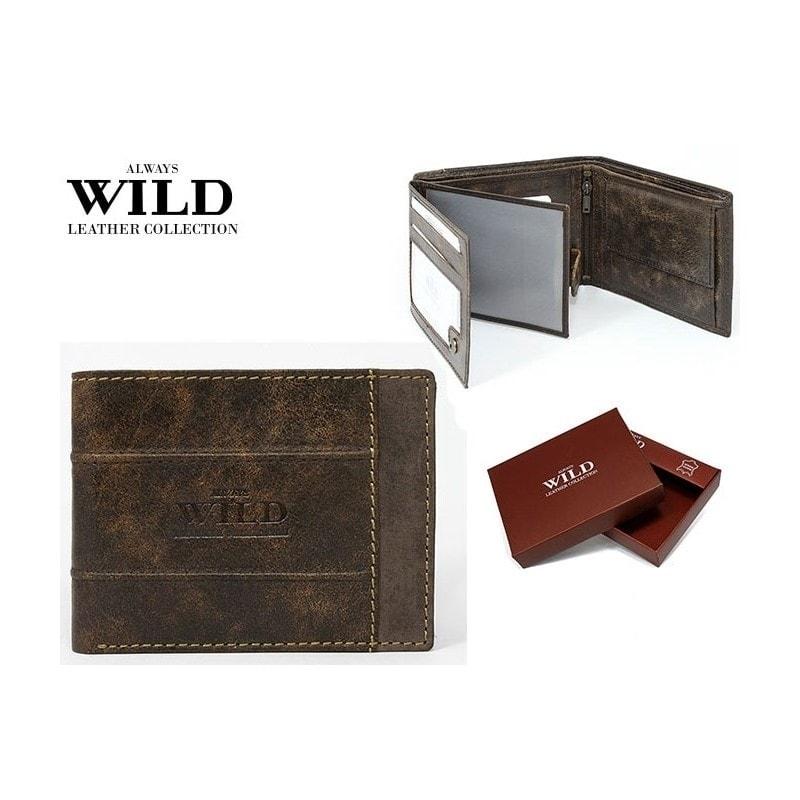 Wild Kožená peněženka Always Wild