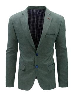489ca821b357 -47% Skladem Pánské zelené sportovní sako ...