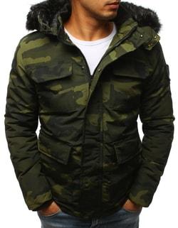 991c09c05 -65% Skladem Stylová maskáčová zimní bunda ...