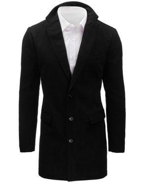 černý delší pánský kabát