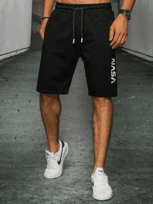 černé pánské kraťasy