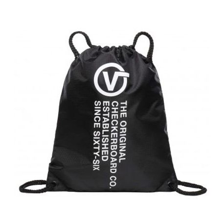Vak s nápisy VANS MN LEAGUE BENCH BAG BLACK DISTORTION