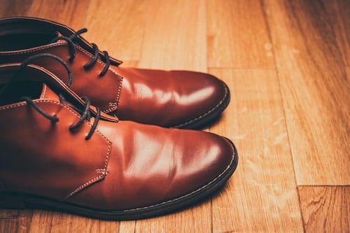 pánské kožené boty