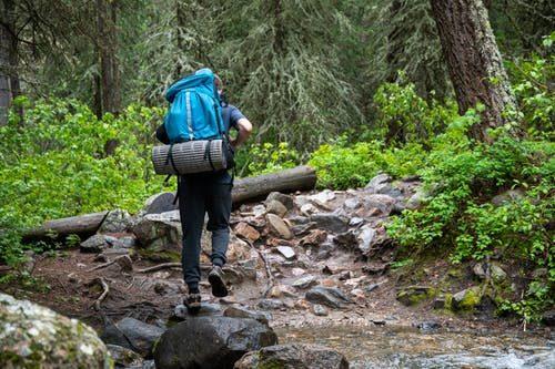 turistika v horách a správná obuv i do špatného počasí