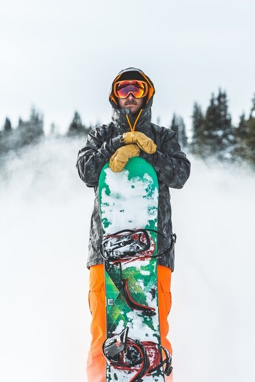 panský zimní outfit na lyže