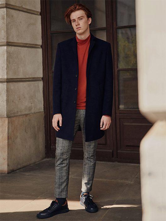 pánský elegantní kabát