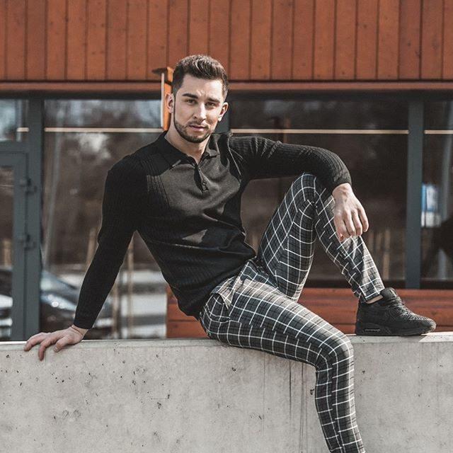 moderní pánské oblečení