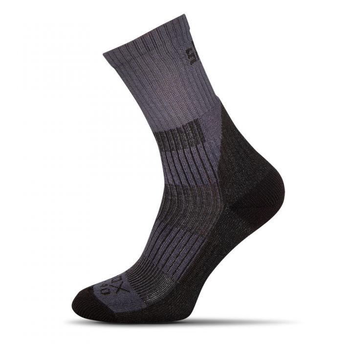 dlouhé šedé pánské ponožky
