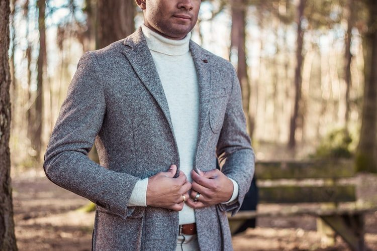 pánské zimní sako