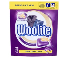 Woolite Black, Darks, Denim gelové kapsle 28ks