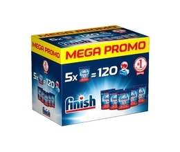 Finish All In 1 Max tablety do myčky Mega box 120ks