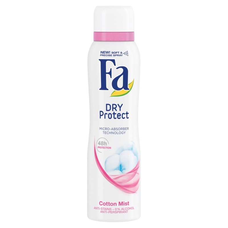 Fa Dry Protect antiperspirant Cotton Mist 150ml