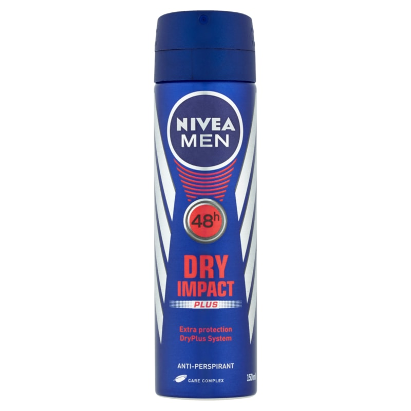 Nivea Men Dry Impact antiperspirant ve spreji 150ml