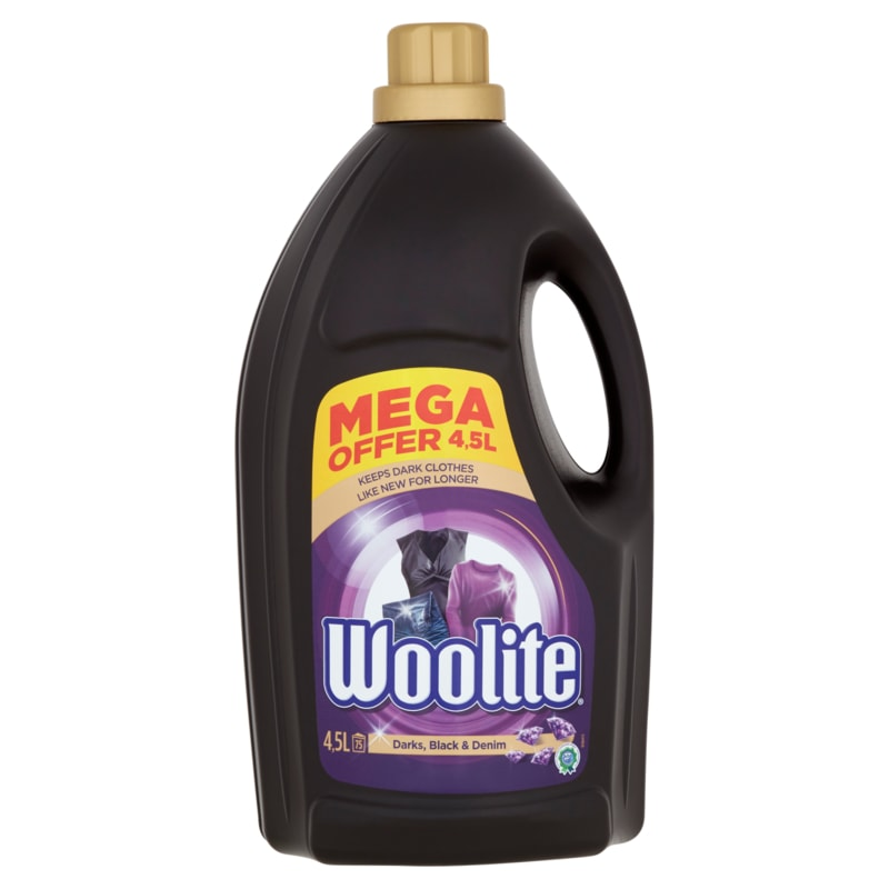 Woolite Dark, Black & Denim prací gel 4,5l 75PD