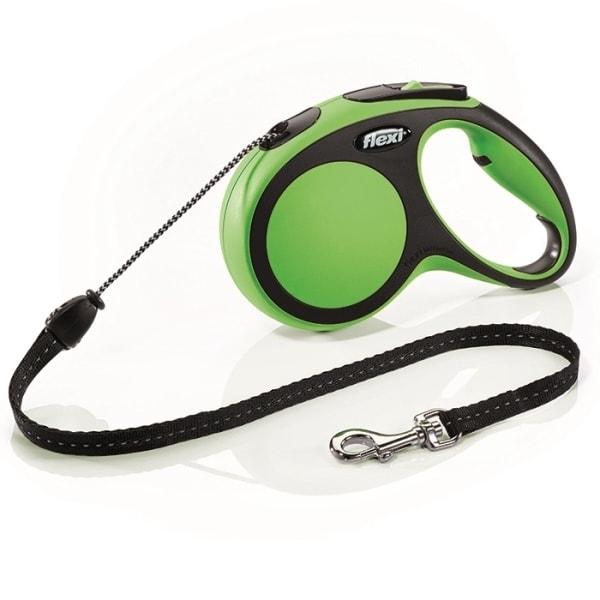 Flexi New Comfort M vodítko lanko 5m/20kg zelená