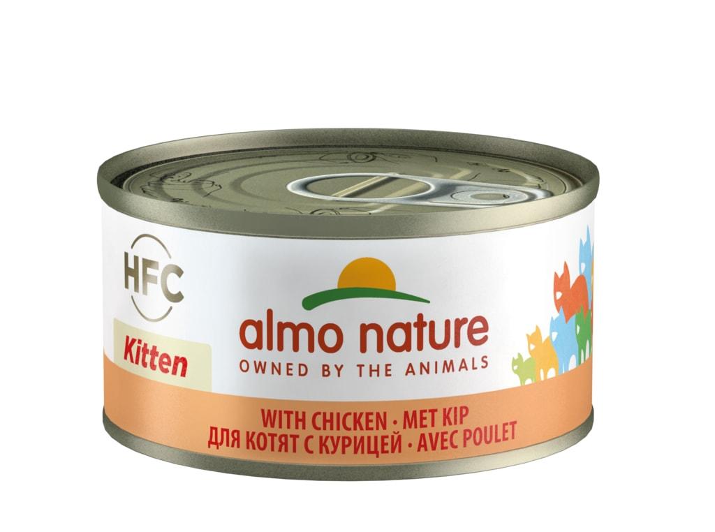 Almo Nature HFC Natural Kuřecí pro koťata 70g