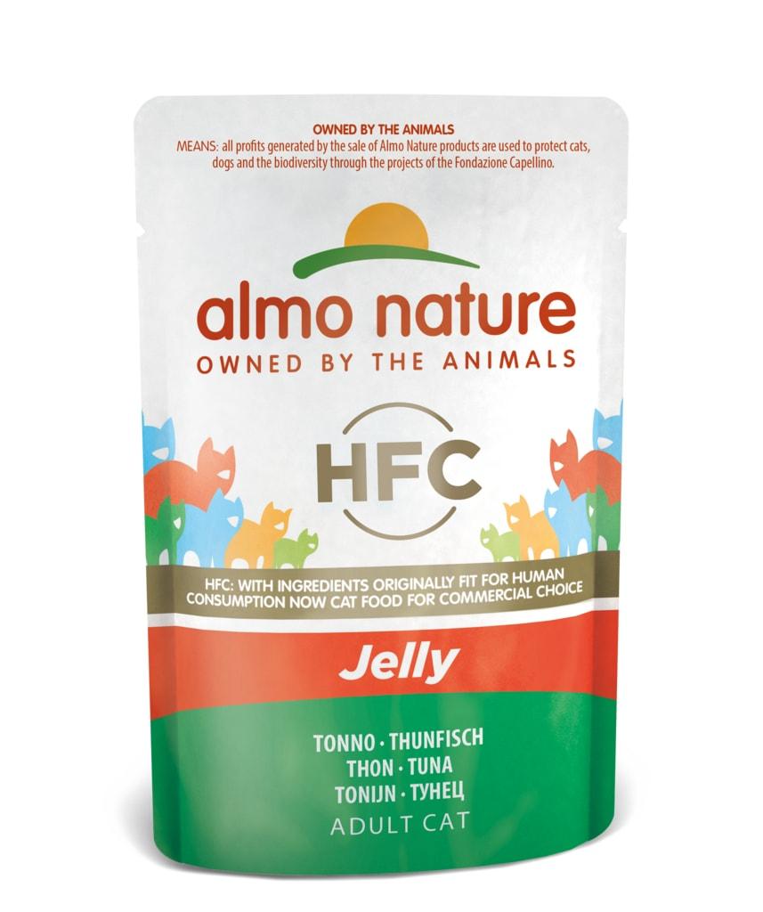 Almo Nature HFC Jelly Tuňák v želé 55g