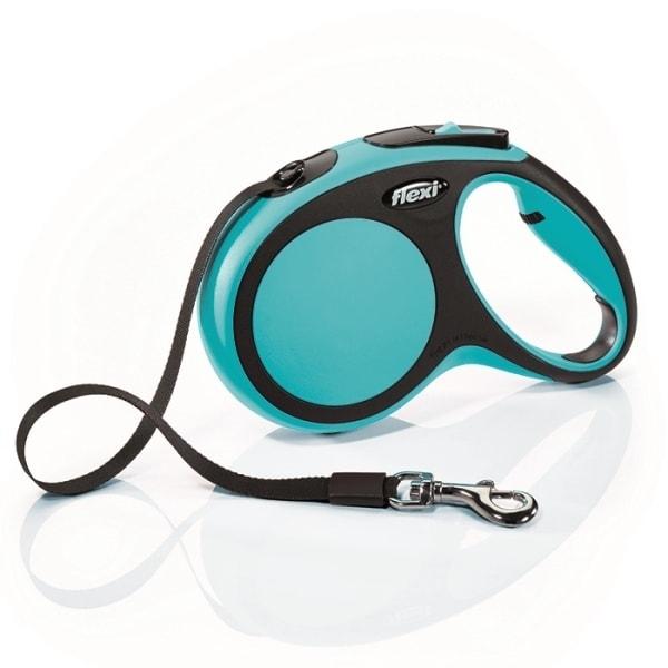 Flexi New Comfort M vodítko pásek 5m/25kg modrá