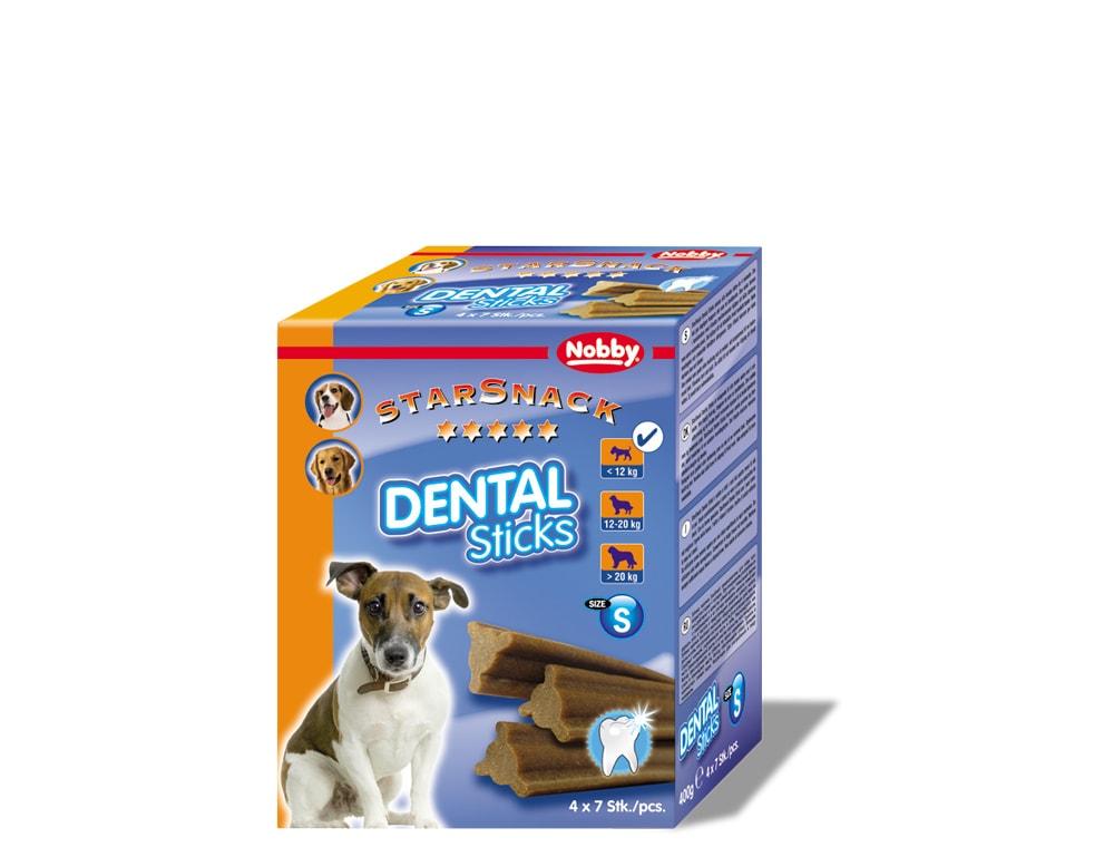 Nobby StarSnack Dental Sticks Small dentální tyčinky 28ks / 400g