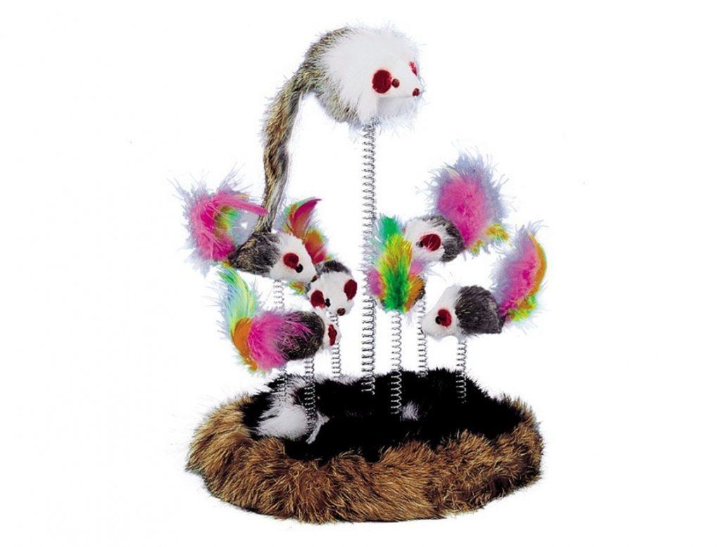 Nobby hrací hřiště pro kočku 17cm 7x hračka