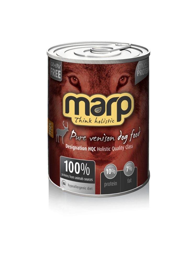Marp Venison konzerva pro psy se zvěřinou 400g
