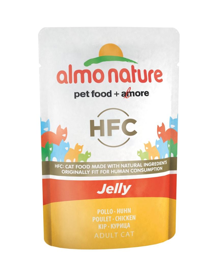 24x Almo Nature HFC Jelly - Kuřecí prsa v želé 55g výhodné balení