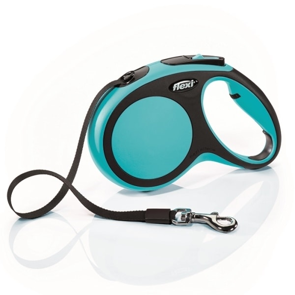 Flexi New Comfort S vodítko pásek 5m/15kg modrá