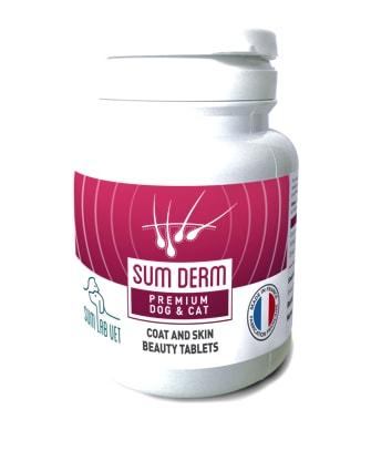 SUM DERM - doplněk stravy pro zdravou srst 50tbl