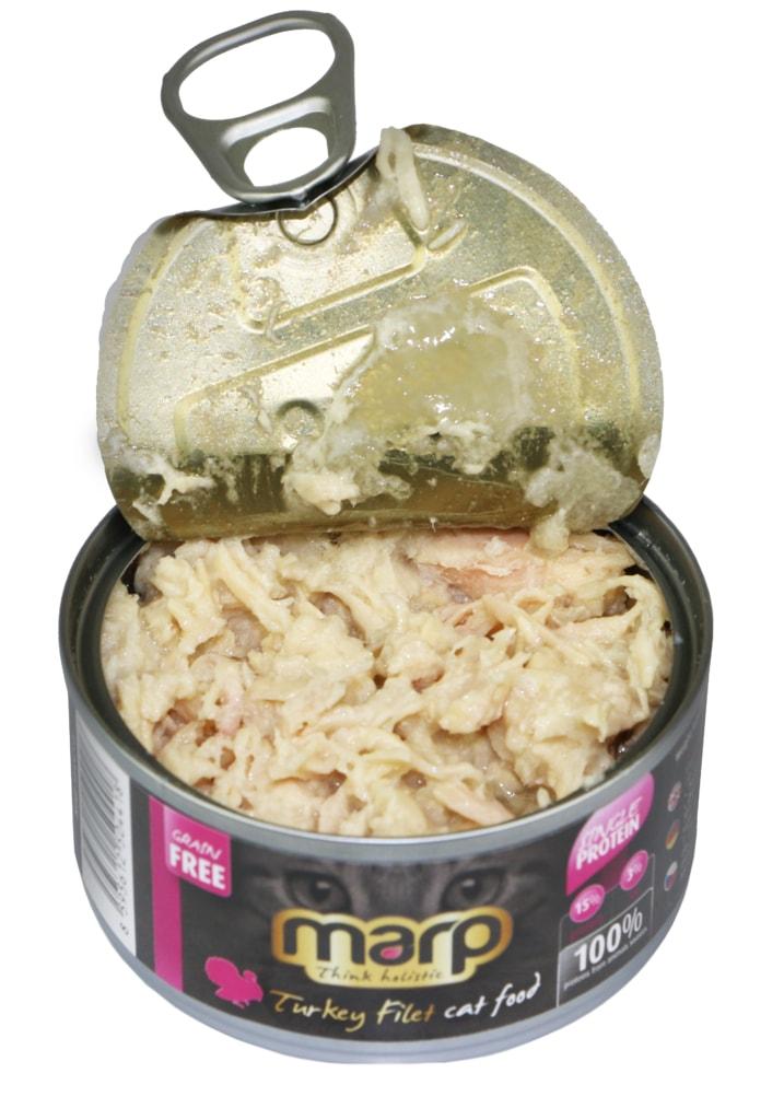 Marp Turkey Filet konzerva pro kočky s krůtími prsy 70g