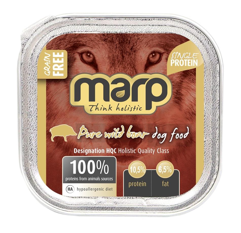 Marp Wild Boar vanička pro psy s divočákem 16x100g (15+1 zdarma)