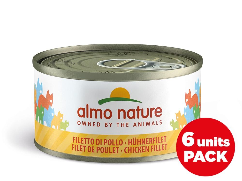 Almo Nature HFC Megapack Kuřecí filet 6x70g