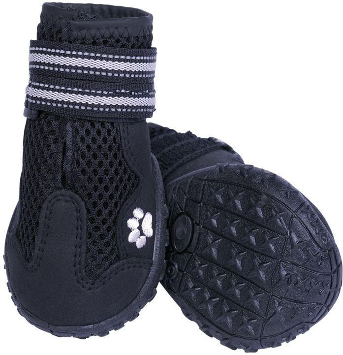 Nobby RUNNERS MESH ochranné boty pro psy XS 2ks černá