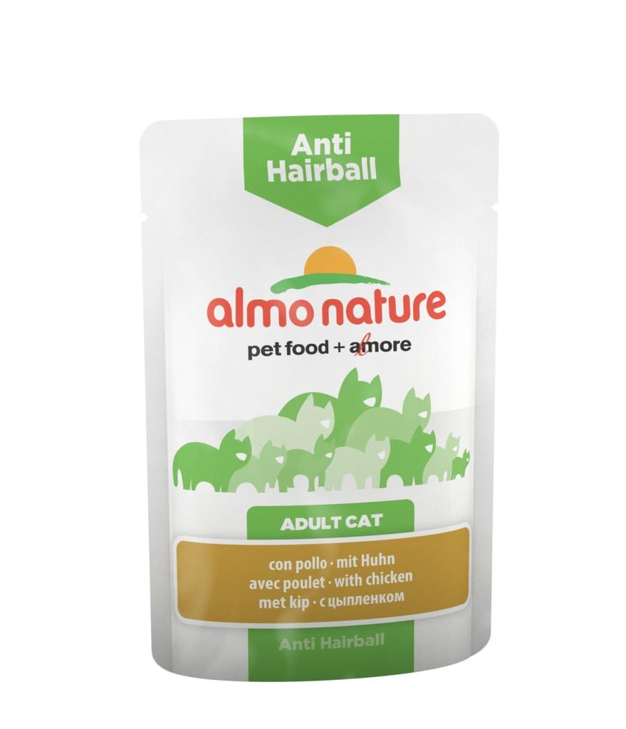 Almo Nature Functional WET - Anti-Hairball Kuře 70g výhodné balení 30ks