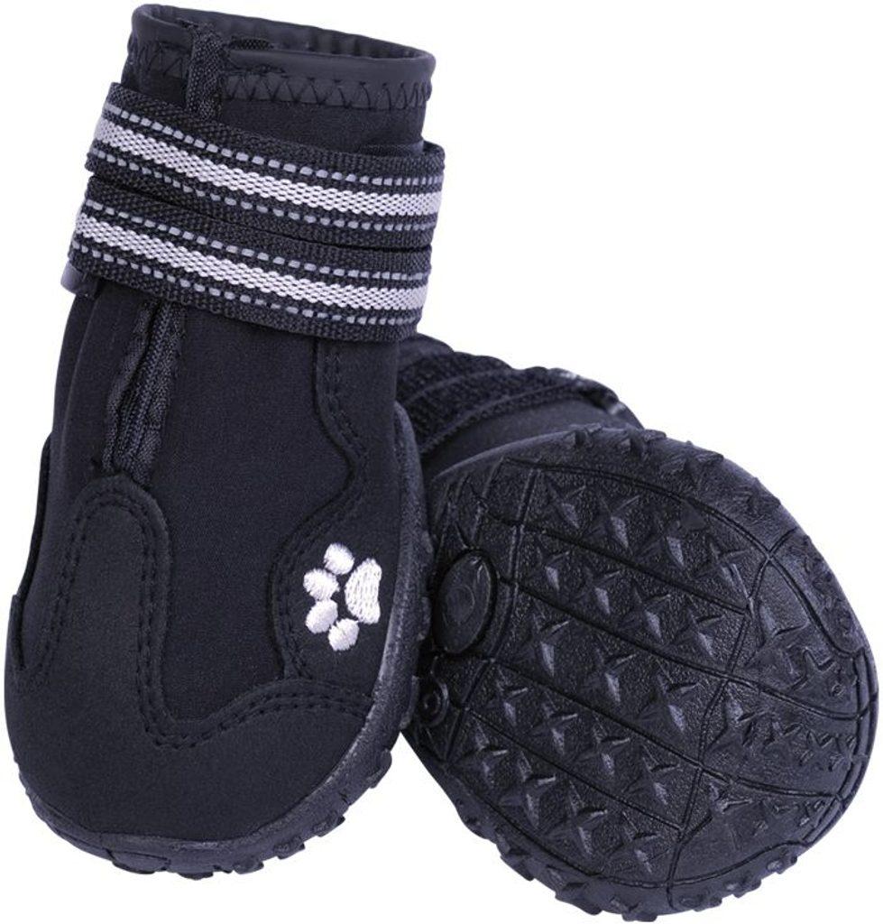 Nobby RUNNERS ochranné boty pro psy S 2ks černá