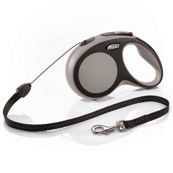 Flexi New Comfort S vodítko lanko 8m/12kg šedá