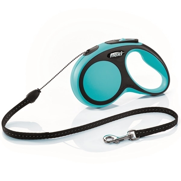 Flexi New Comfort S vodítko lanko 5m/12kg modrá