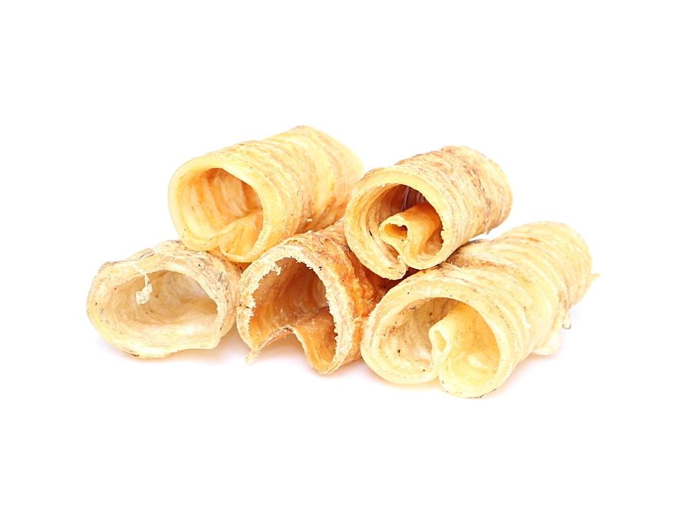 Marp Treats Buffalo Crunchies - sušená průdušnice 500g VELKÉ BALENÍ