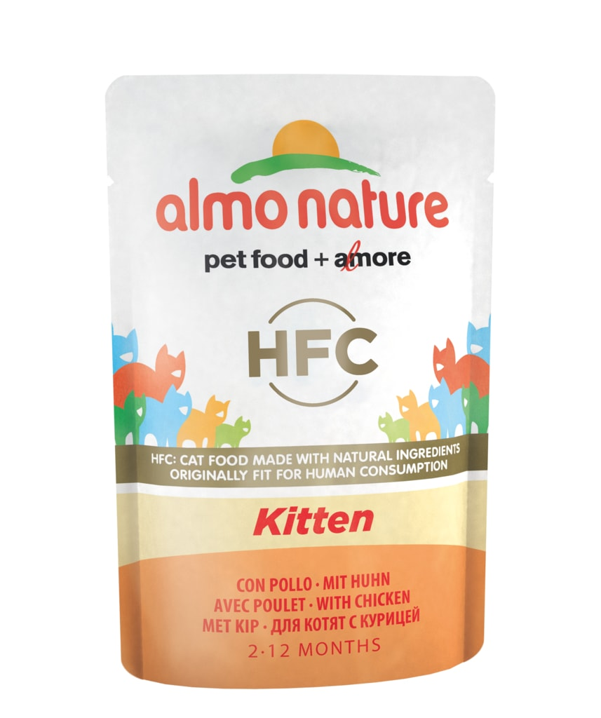 Almo Nature Classic Cuisine WET CAT - Koťata 55g